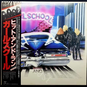 Hit and run - GIRLSCHOOL Płyta winylowa LP