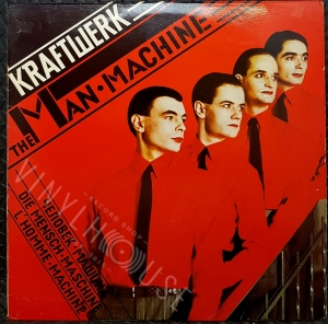 The man machine - KRAFTWERK Płyta winylowa LP